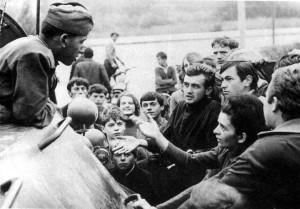 VZ0818_04_Přesvědčování mladičkých ruských vojáků bylo marné. Byli zmanipulovaní sovětskou propagandou a dezorientovaní. Foto zlin.eu