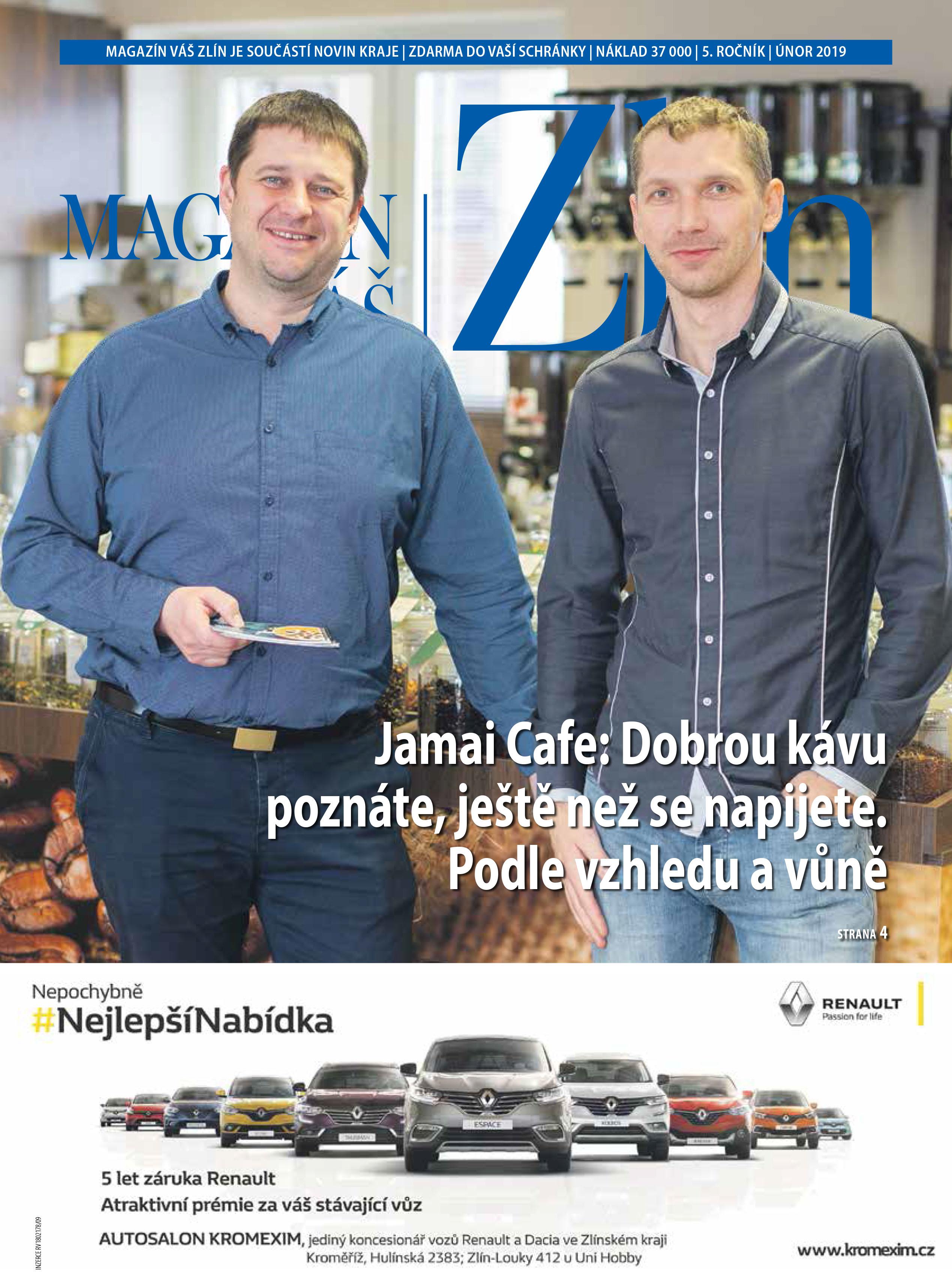 Magazín Váš Zlín, únor 2019-1