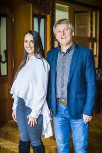 Gabriela Končitíková a Pavel Velev z Nadace Tomáše Bati